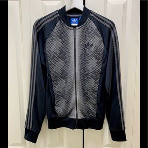 Adidas Black Track Jacket Men's Small